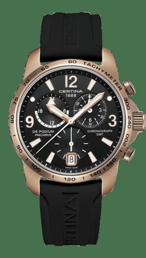 DS Podium Chronograph GMT Aluminium